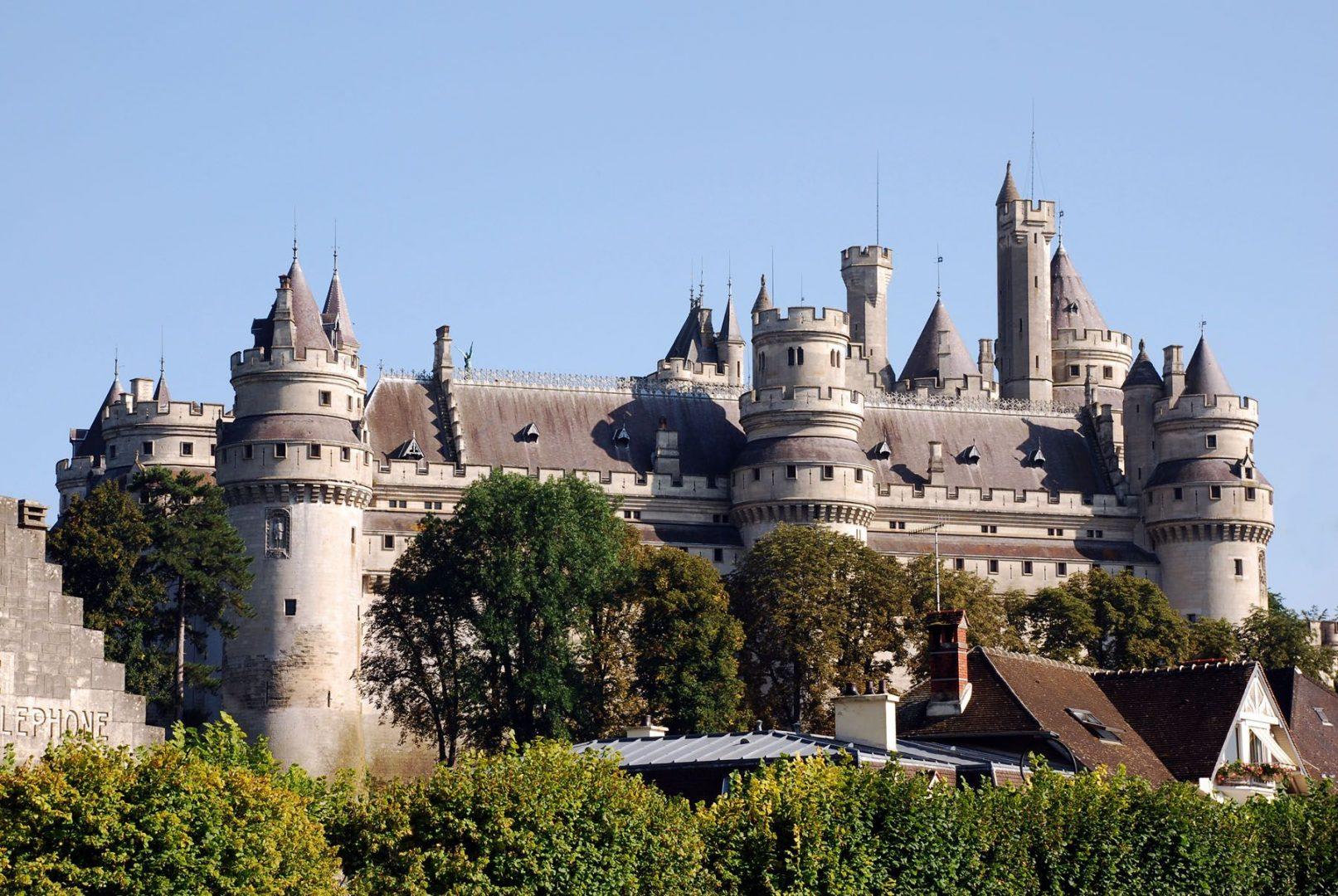 Château de Pierrefonds, Oise, France