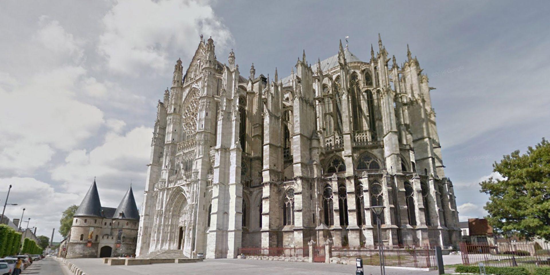 La Cathédrale Saint-Pierre, Oise, France