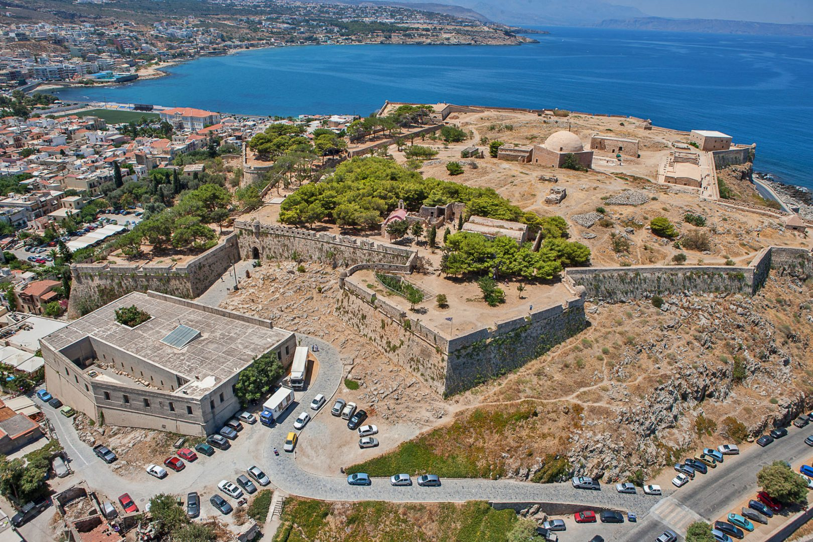 Fortezza, Rethymno, Greece