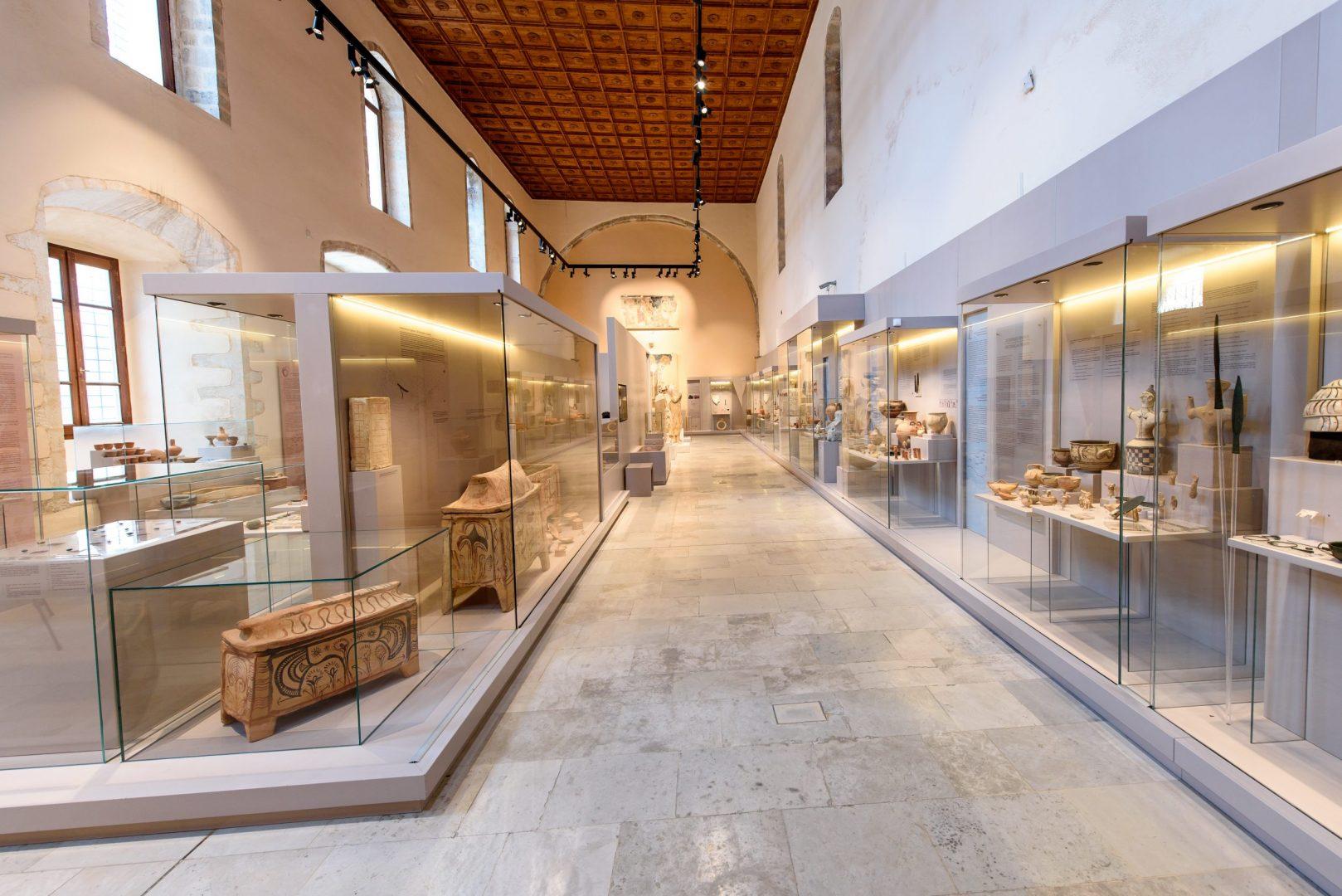 Archaeological Museum, Rethymno, Greece