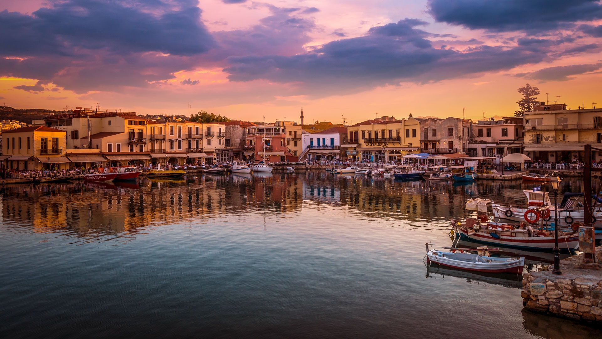 Old Venetian Harbour, Rethymno, Greece