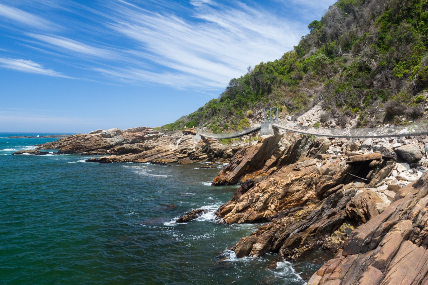 Rocky Coastline, Garden Route, South Africa