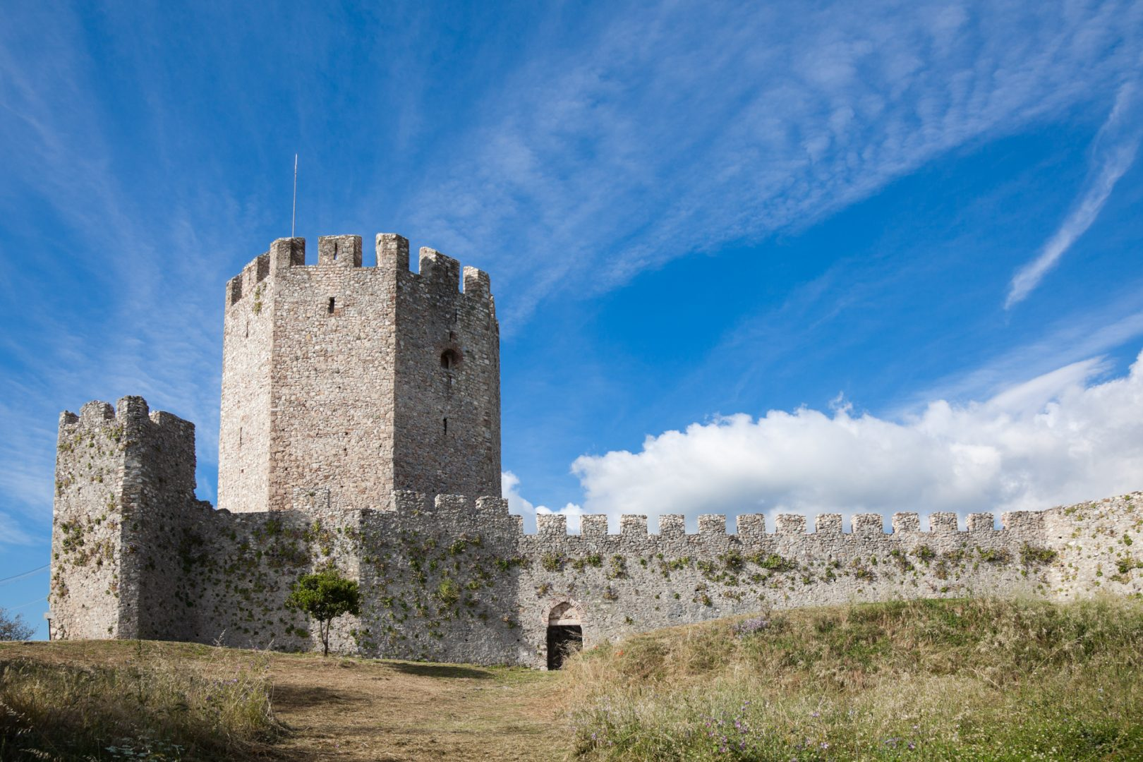 Platamon Castle, Pieria, Greece