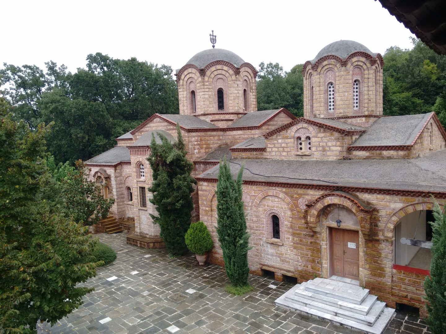 Monastery of Agios Dionysios, Olympus, Greece