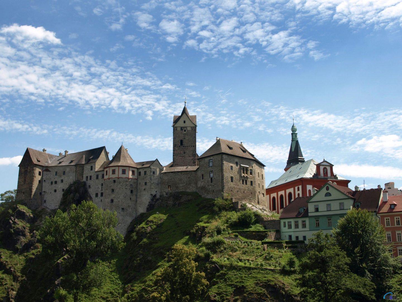 Loket Castle, Karlovy Vary, Czech Republic