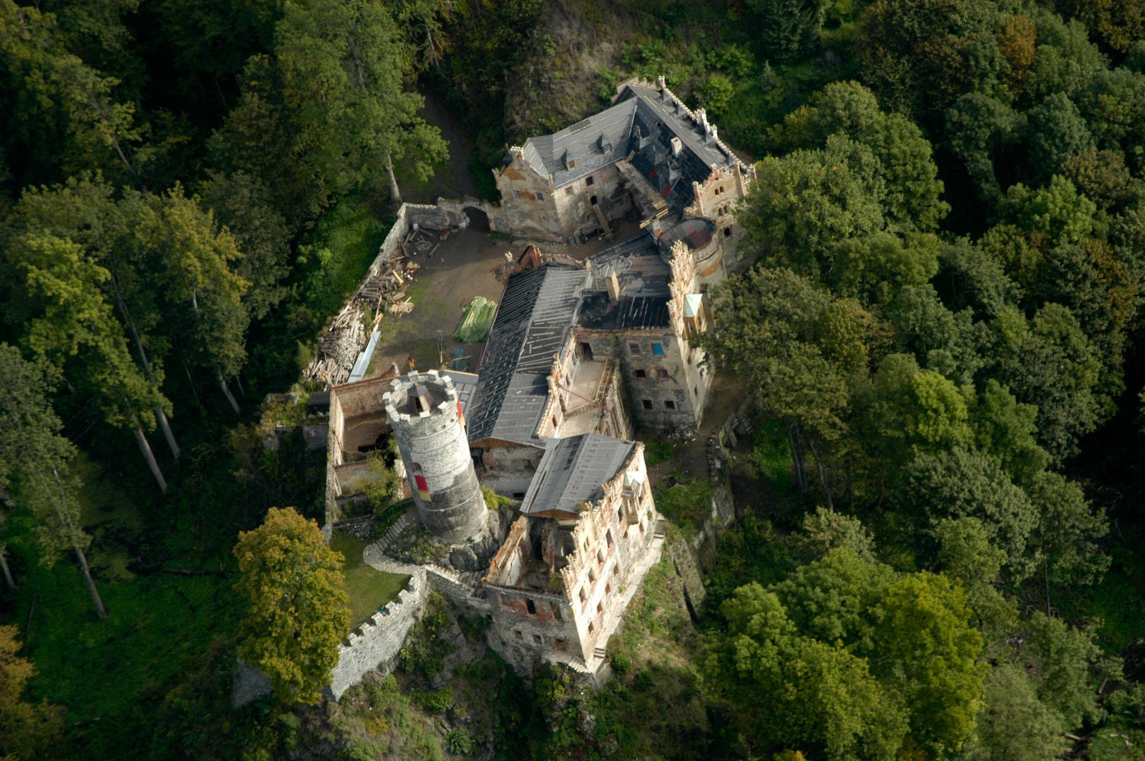 Hauenštejn Castle, Czech Republic