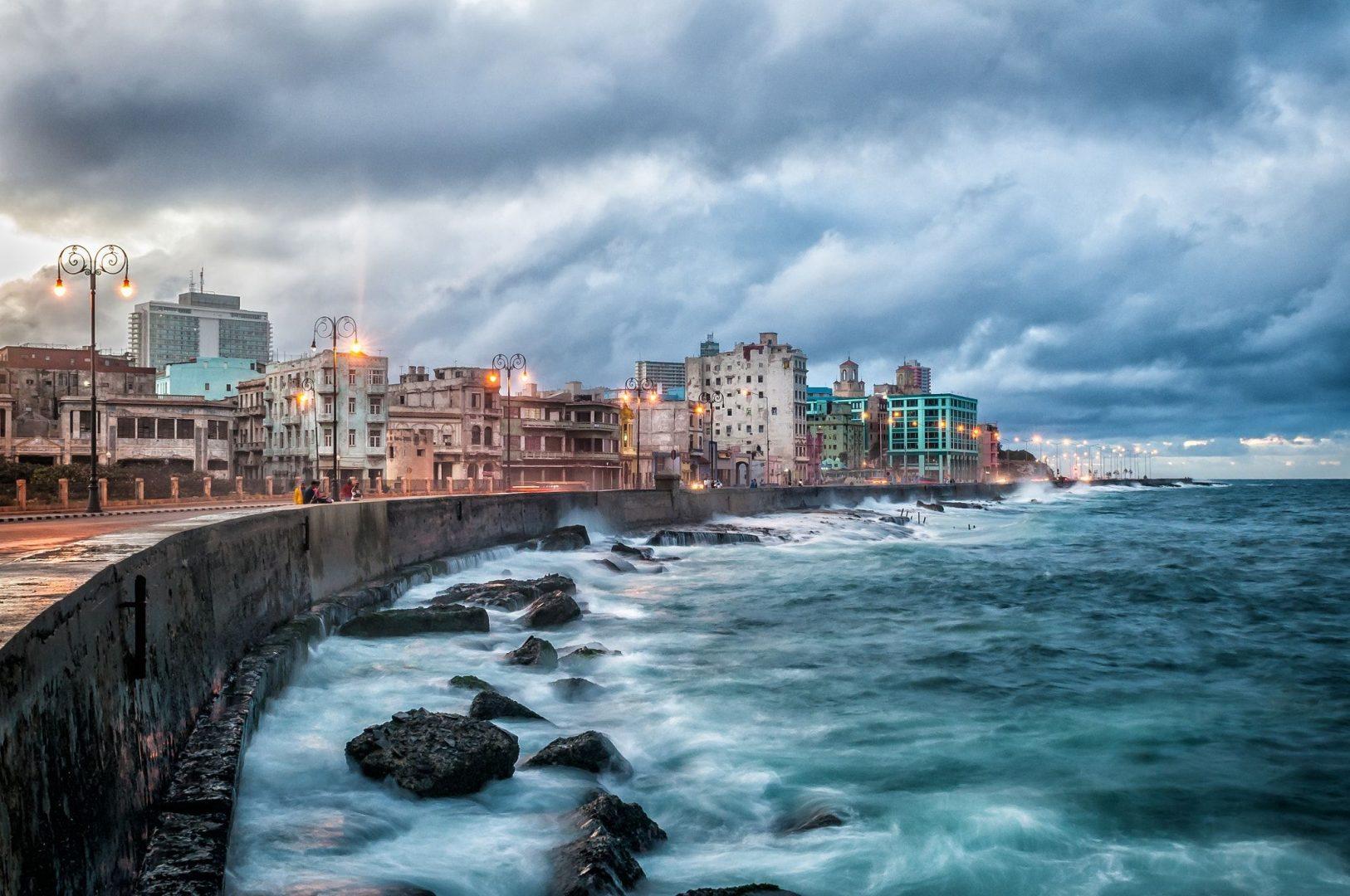 Malecon Esplanade, Havana, Cuba