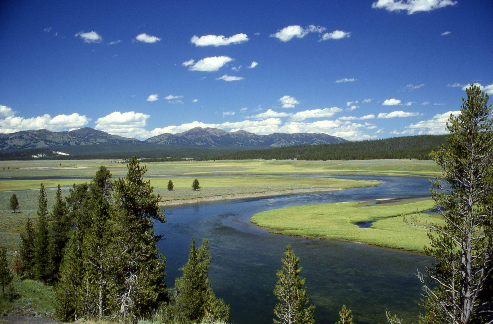 Yellowstone Caldera, Yellowstone, U.S.A.