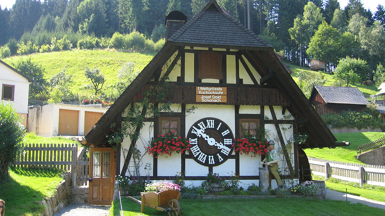 Cuckoo Clock Tower, Black Forest, Germany