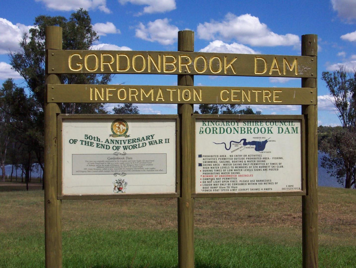 Gordonbrook Dam, South Burnett, Australia