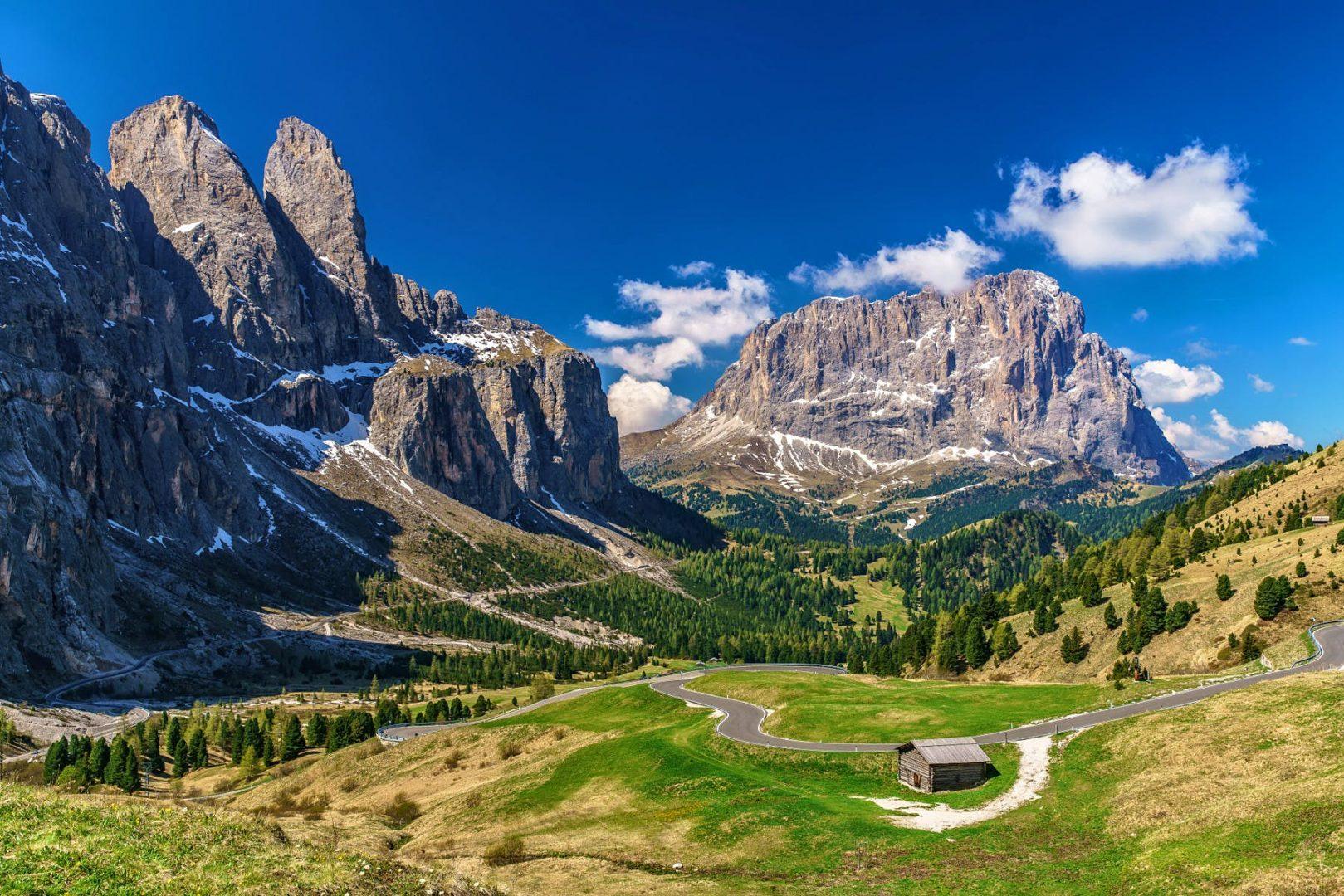 Sella Pass, South Tyrol, Italy