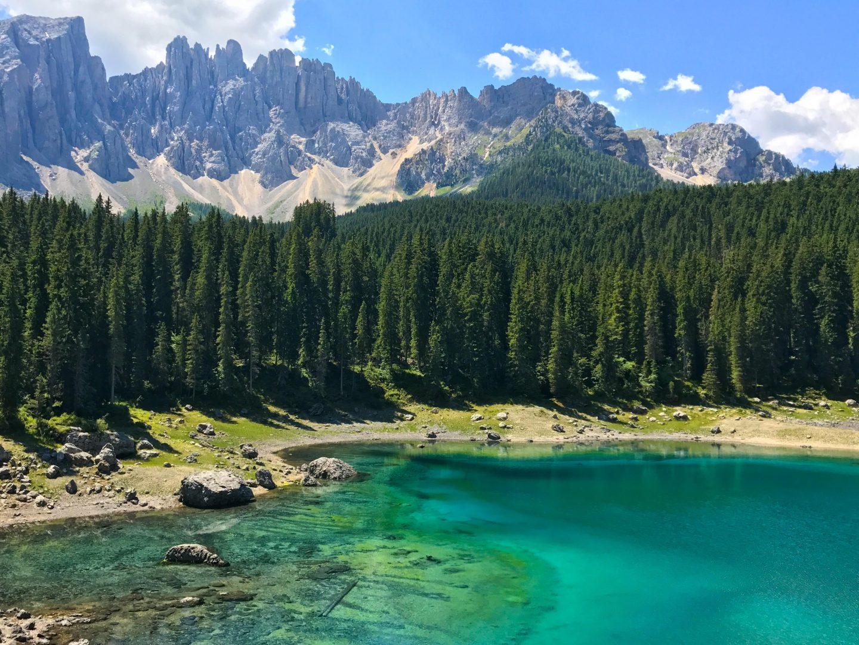 Lake Carezza, South Tyrol, Italy