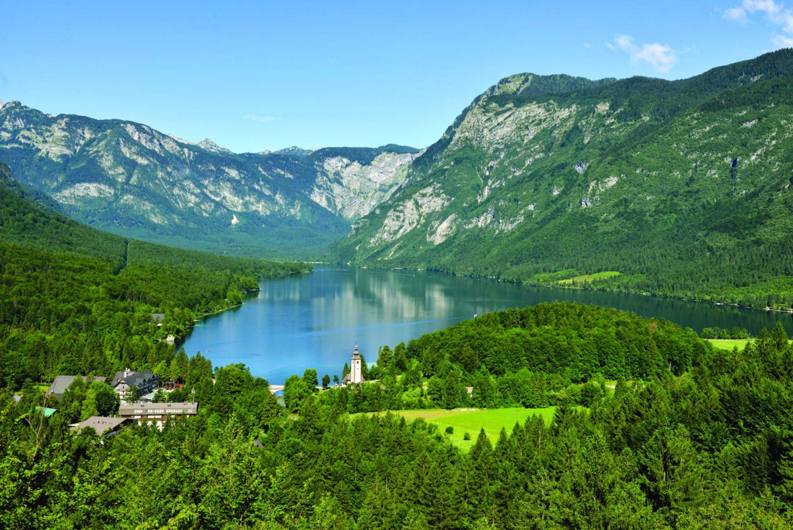 Lake Bohinj, Upper Carniola, Slovenia