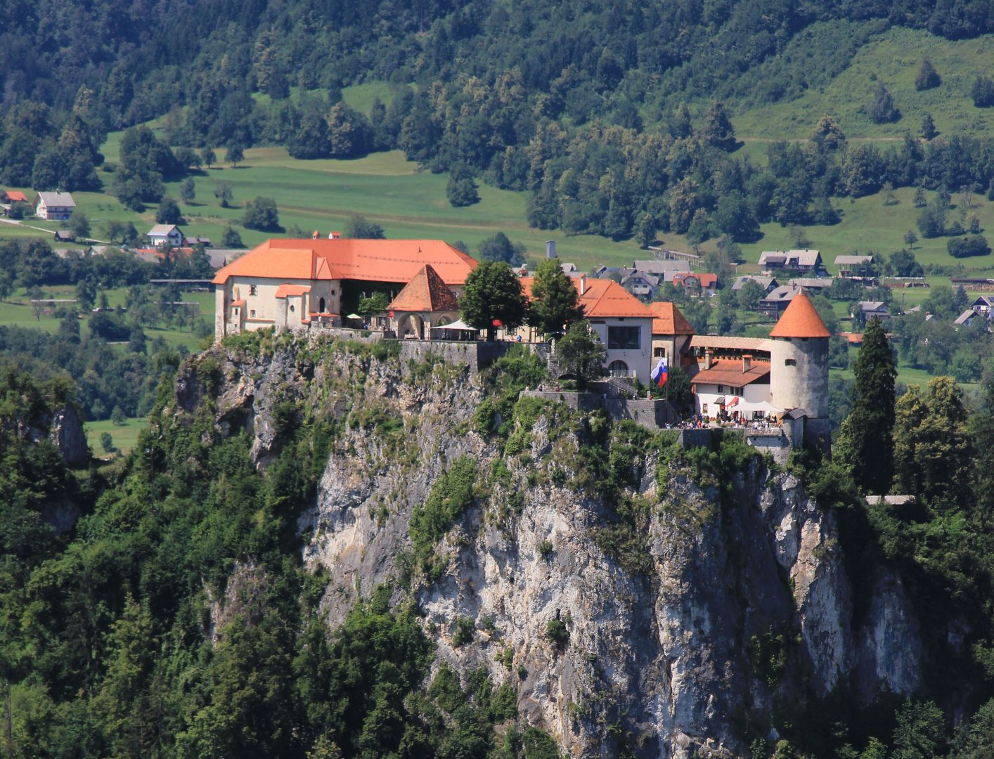 Bled Castle, Upper Carniola, Slovenia