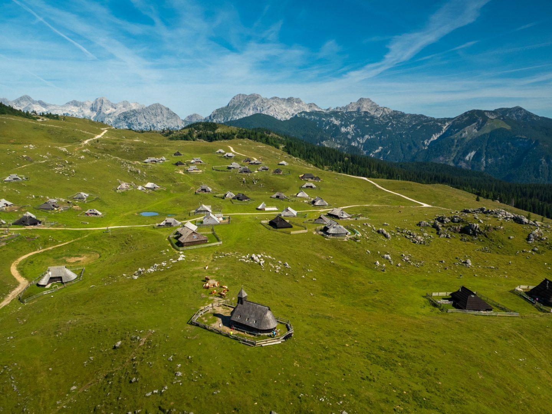 Big Pasture Plateau, Upper Carniola, Slovenia