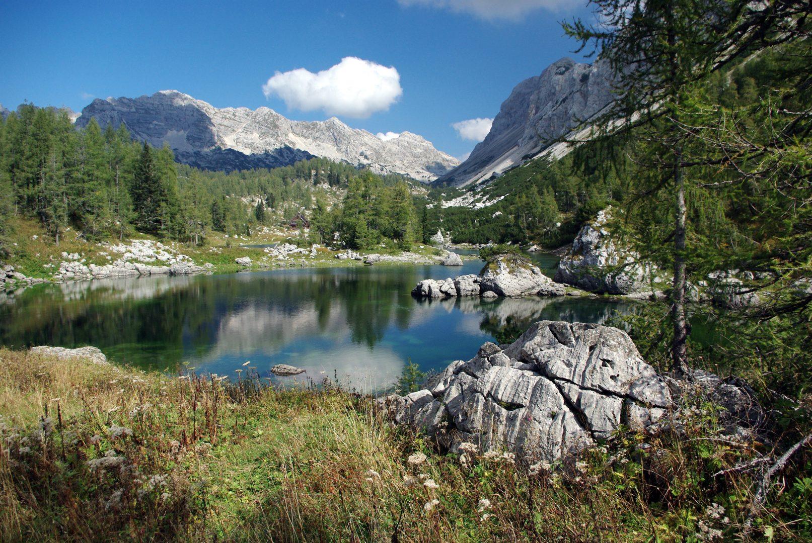 Triglav Lakes Valley, Upper Carniola, Slovenia