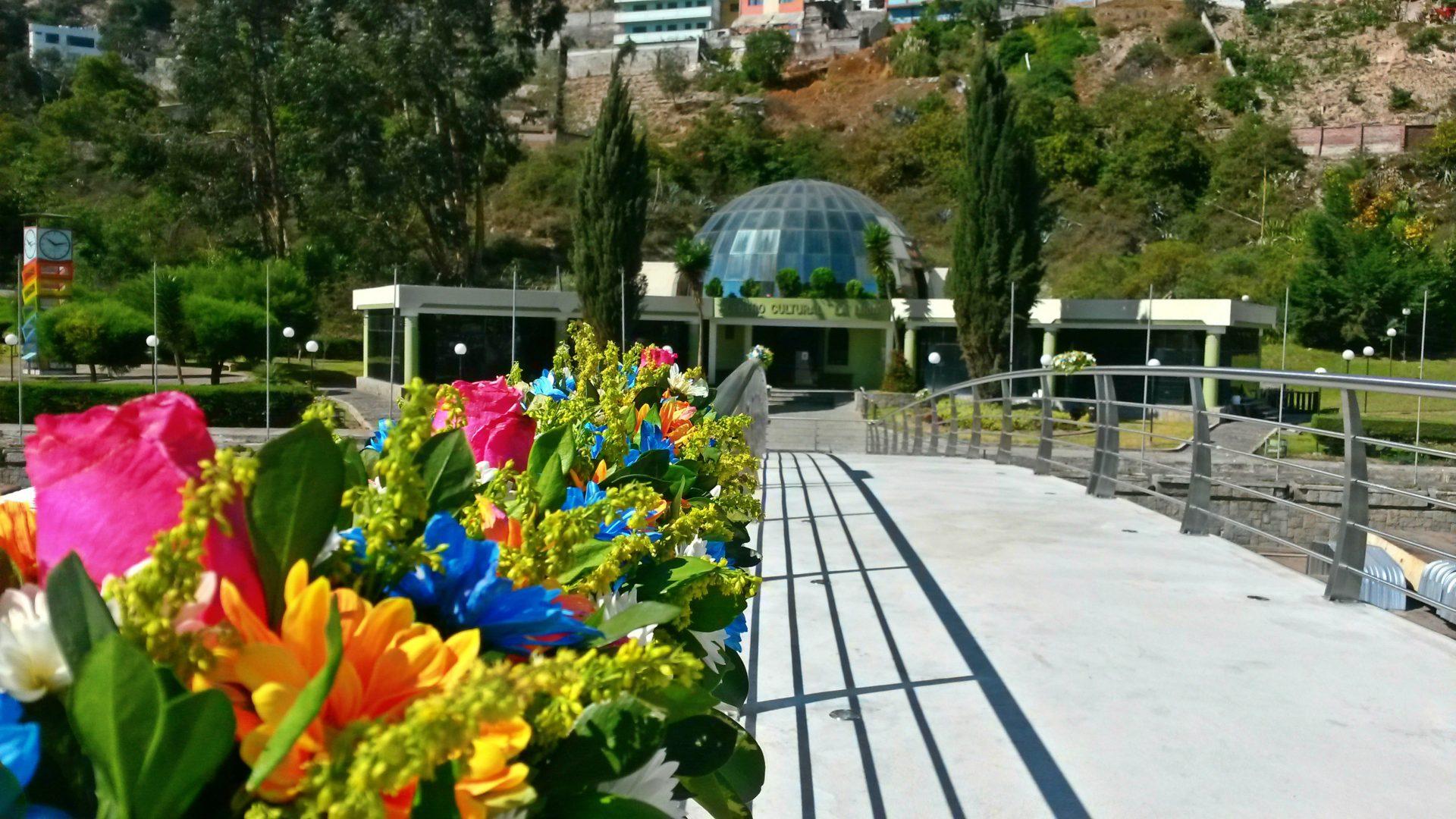 Botanical Garden Atocha-La Liria, Ambato, Ecuador