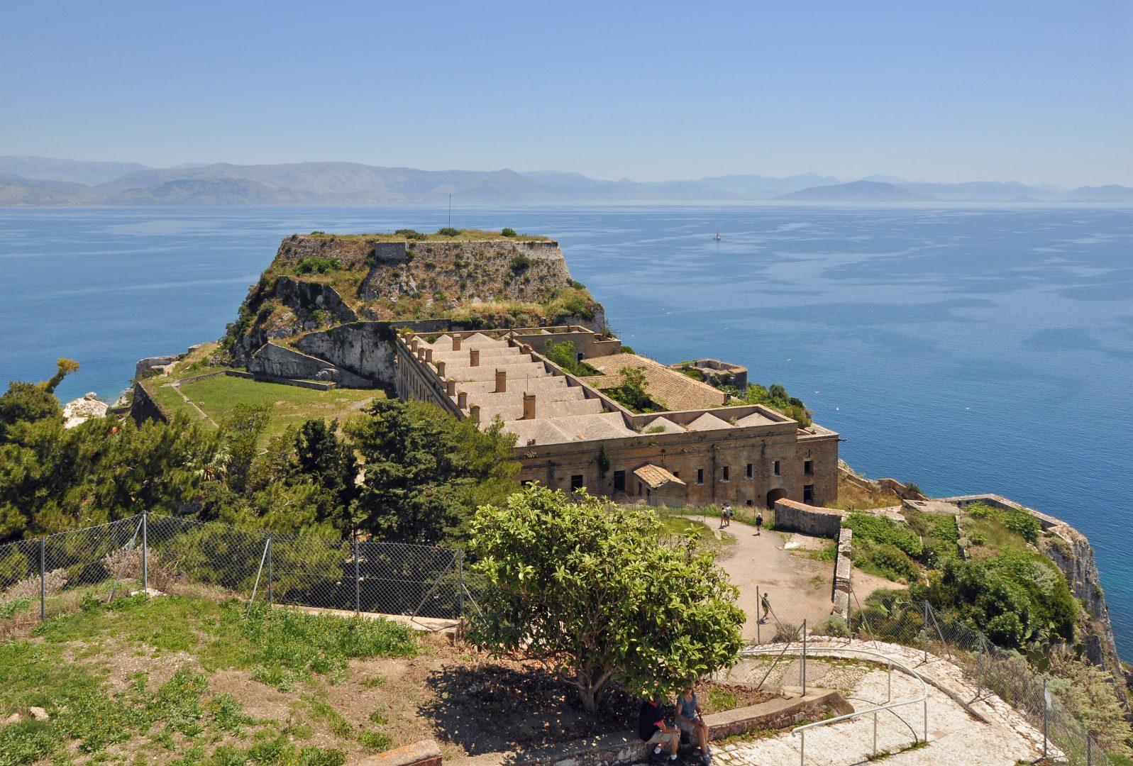 Old Venetian Fortress, Corfu, Greece