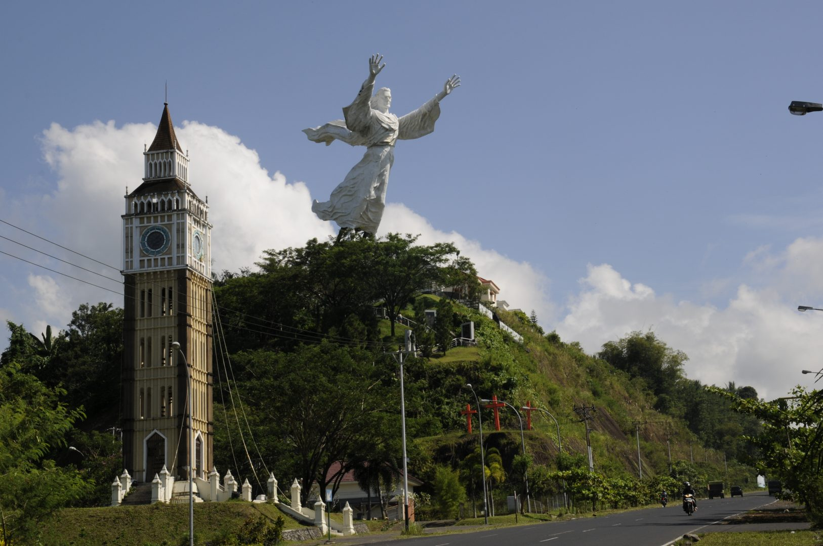 Christ Blessing, Manado, Indonesia