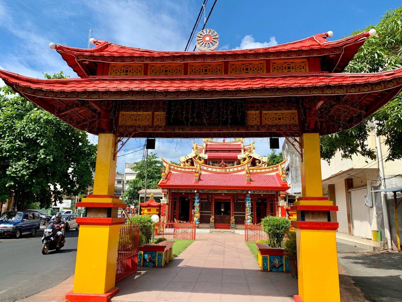Ban Hin Kiong Temple, Manado, Indonesia