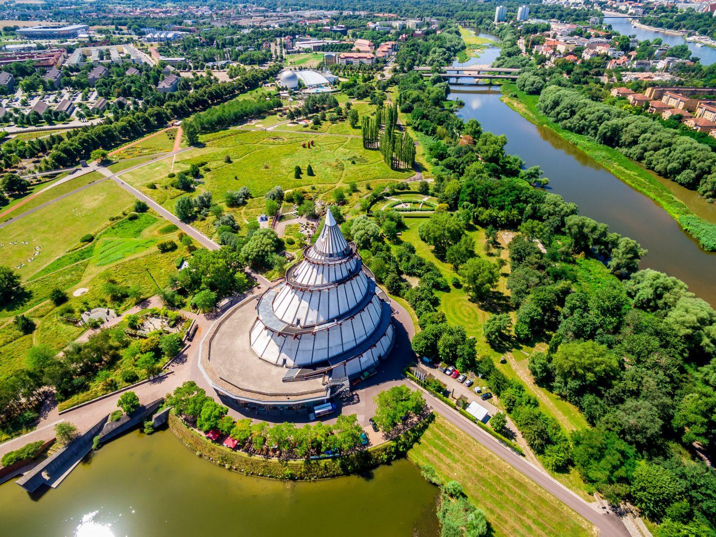 Jahrtausendturm, Magdeburg, Germany
