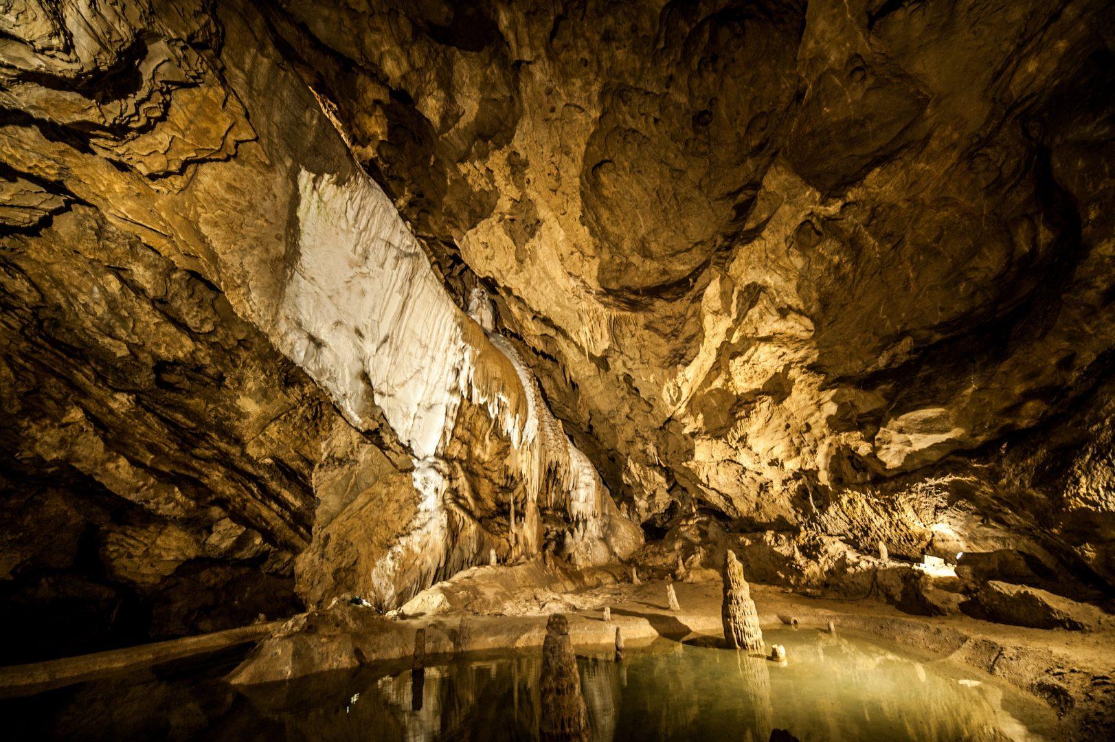 Belianska Cave, Vysoké Tatry, Slovakia