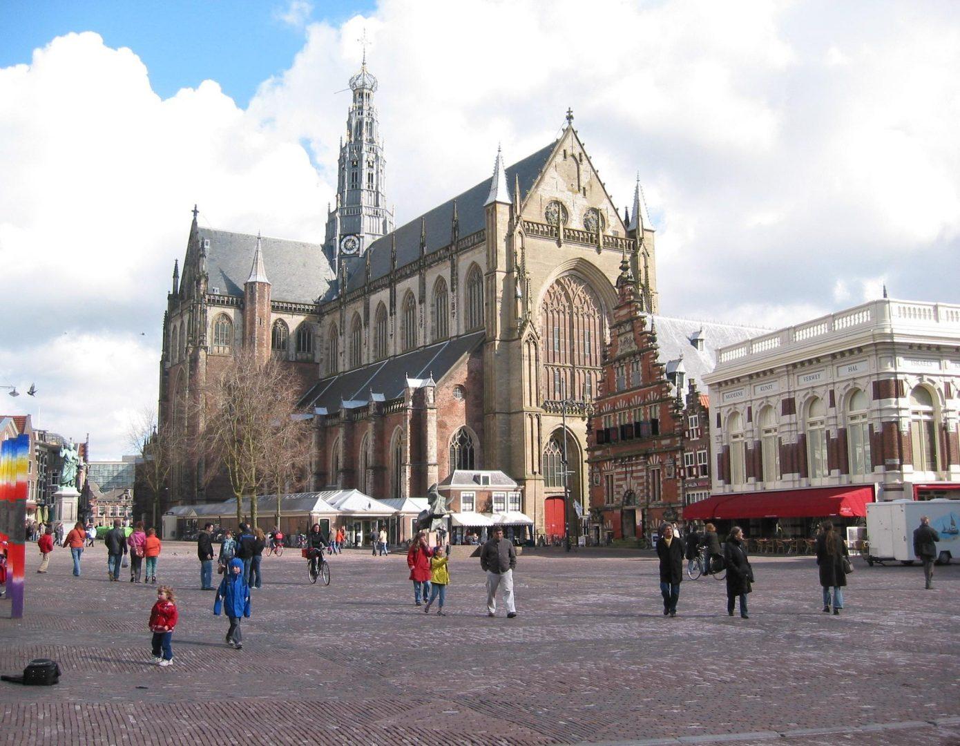 The Grote Kerk, Haarlem, Netherlands