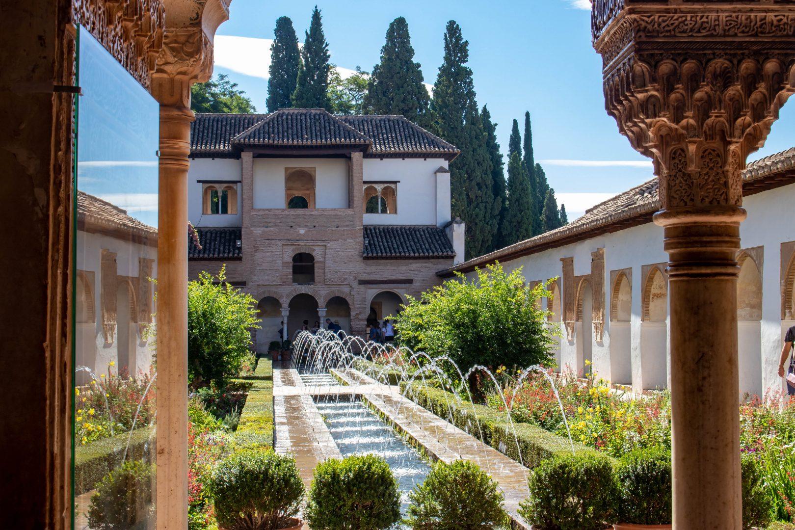 The Palacio de Generalife, Spain