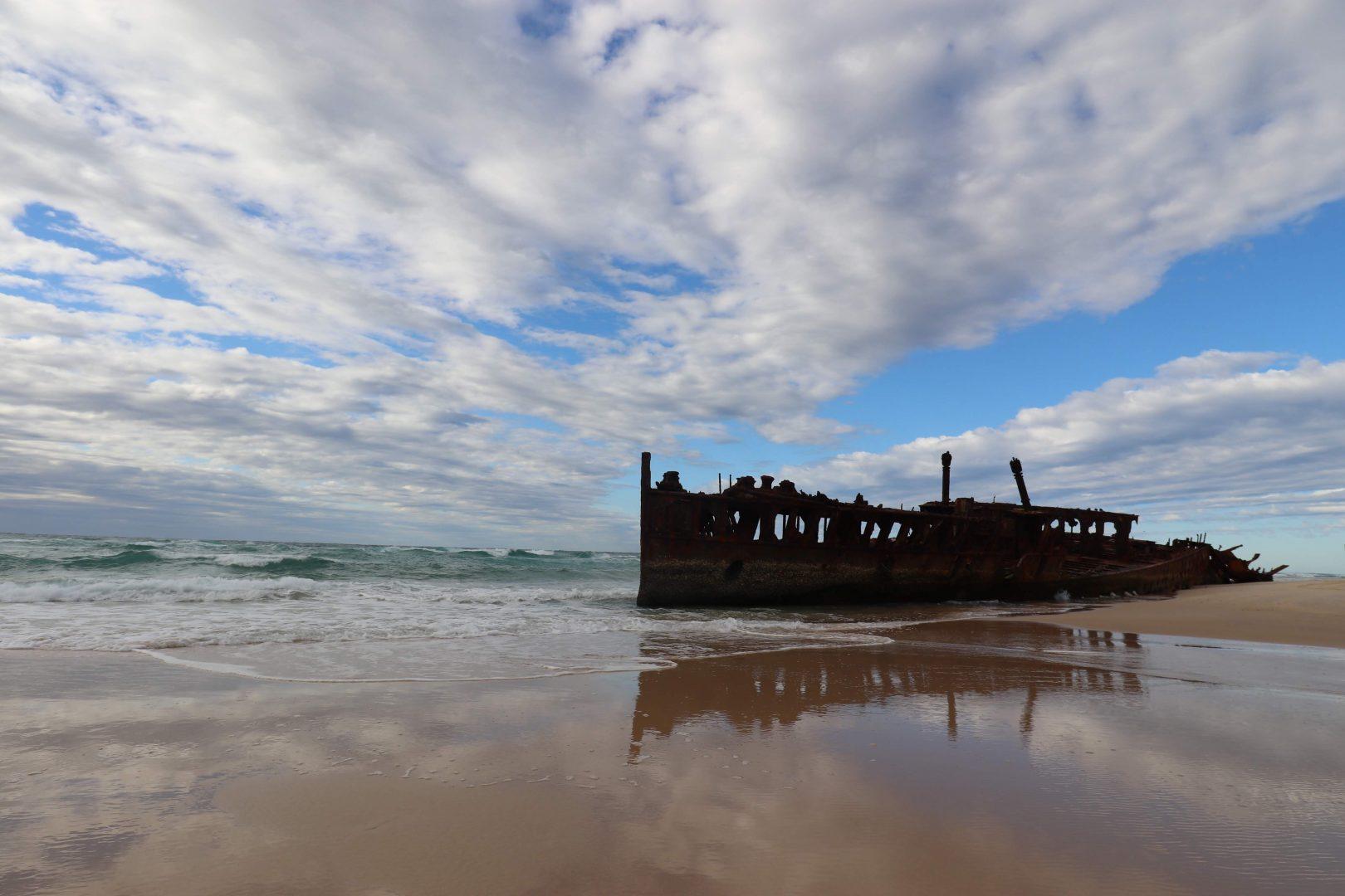 Maheno Shipwreck, Australia