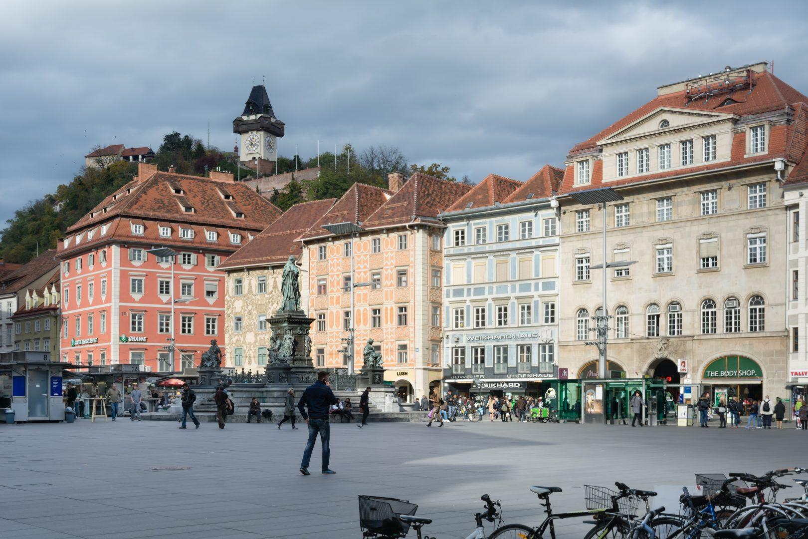 Hauptplatz Graz, Austria
