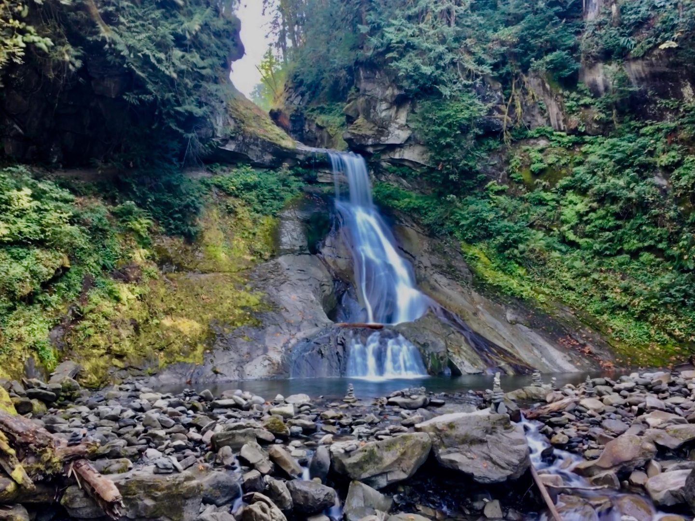 Racehorse Falls, Maple Falls, Washington