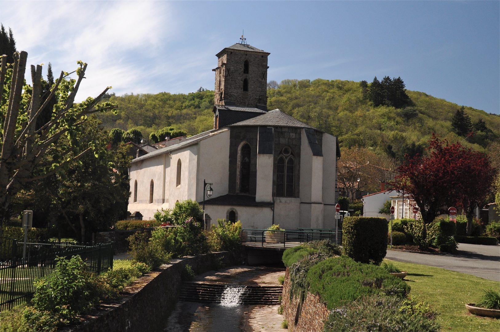 Église Sainte-Cécile de Cuxac-Cabardès
