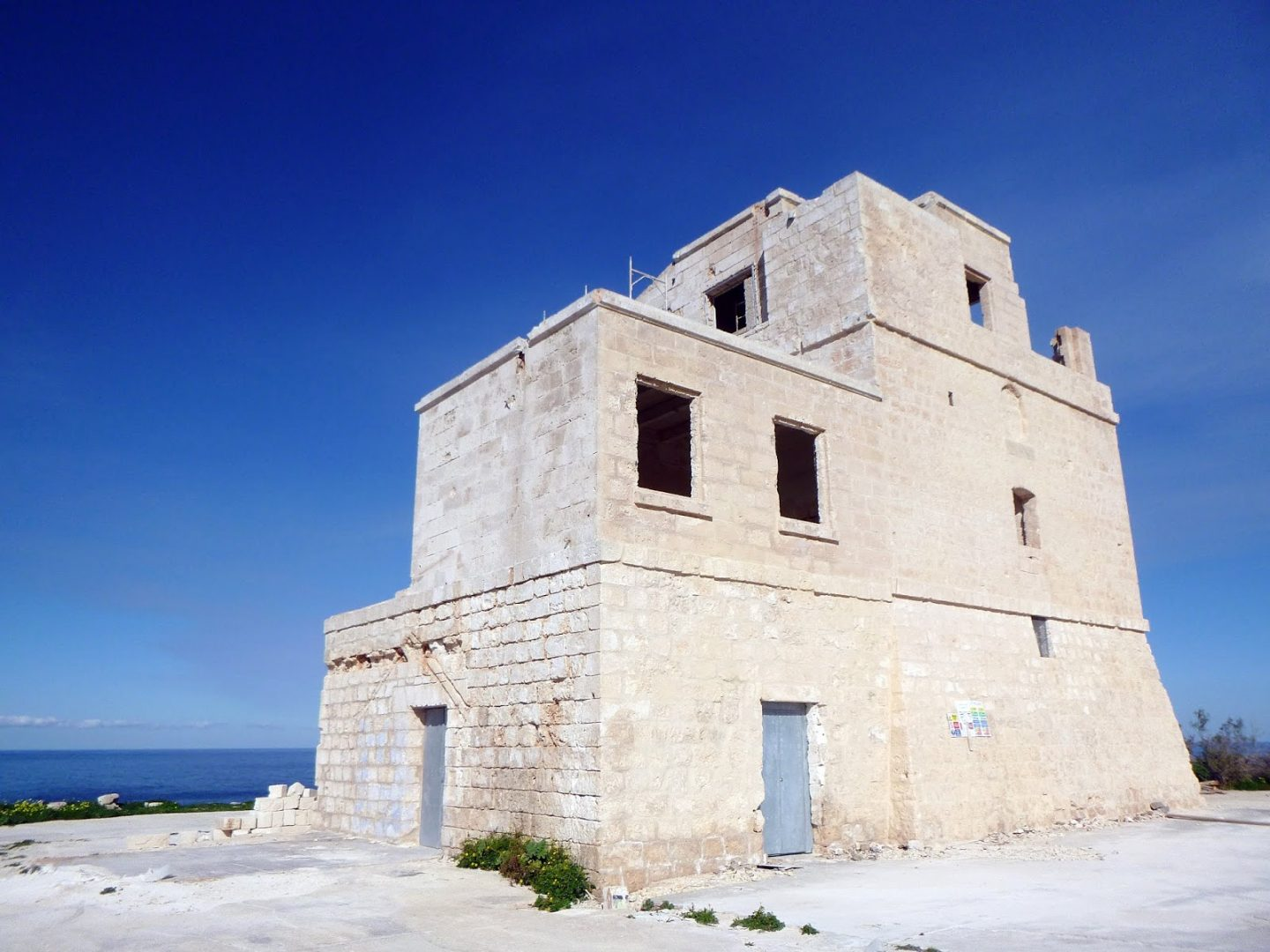 The White Tower in Malta