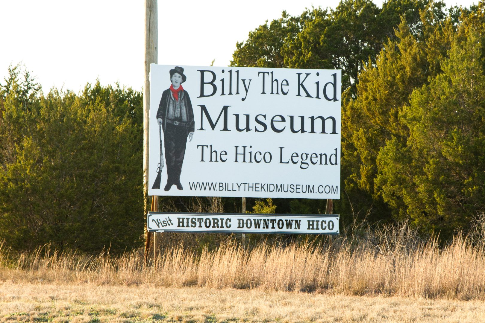 Billy the Kid Museum, Hico, Texas