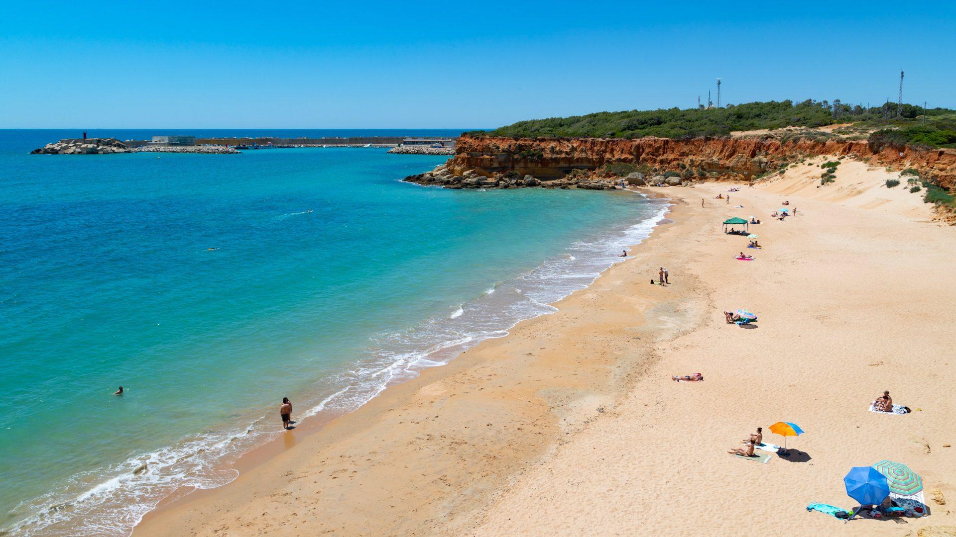 Playa de Los Bateles, Conil de la Frontera, Spain