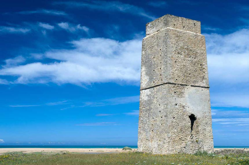 Castilnovo Watchtower, Conil de la Frontera, Spain