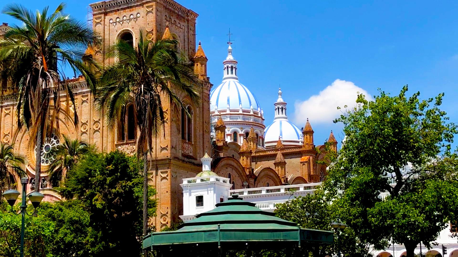 New Cathedral of Cuenca, Cuenca, Ecuador
